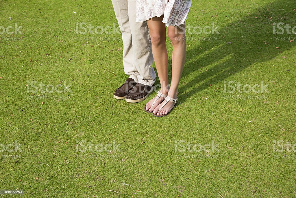 Hip Couple standing royalty-free stock photo