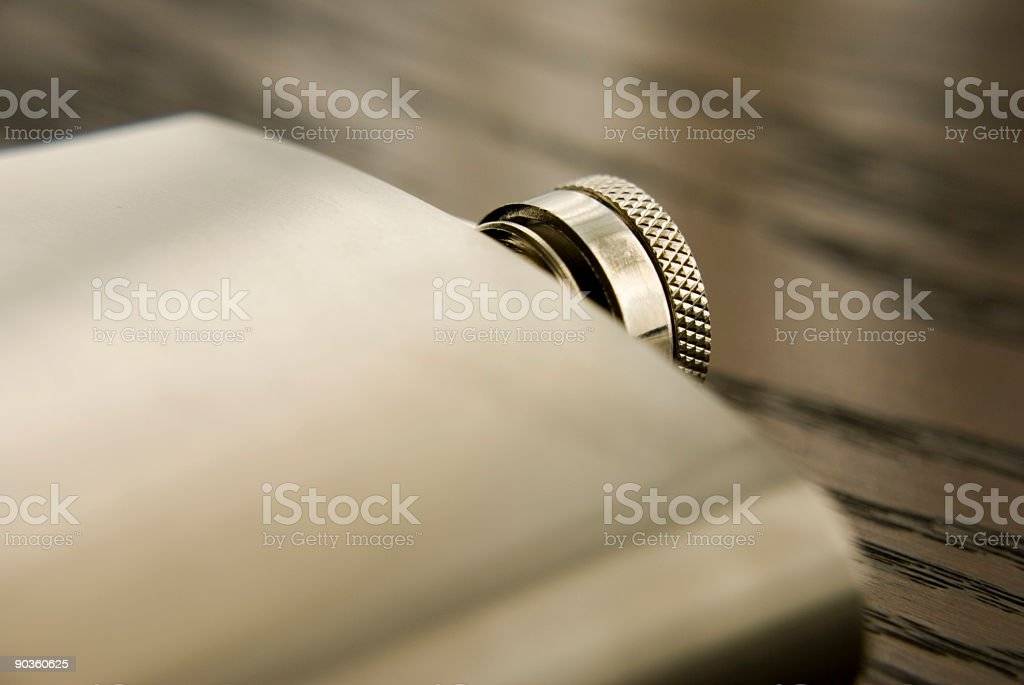 Hip flask royalty-free stock photo