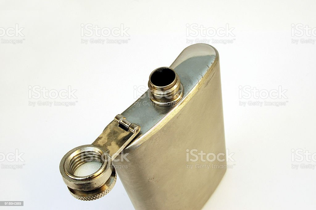 hip flask #4 royalty-free stock photo