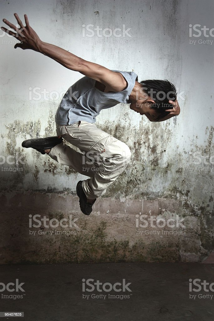 hip hop dancer royalty-free stock photo