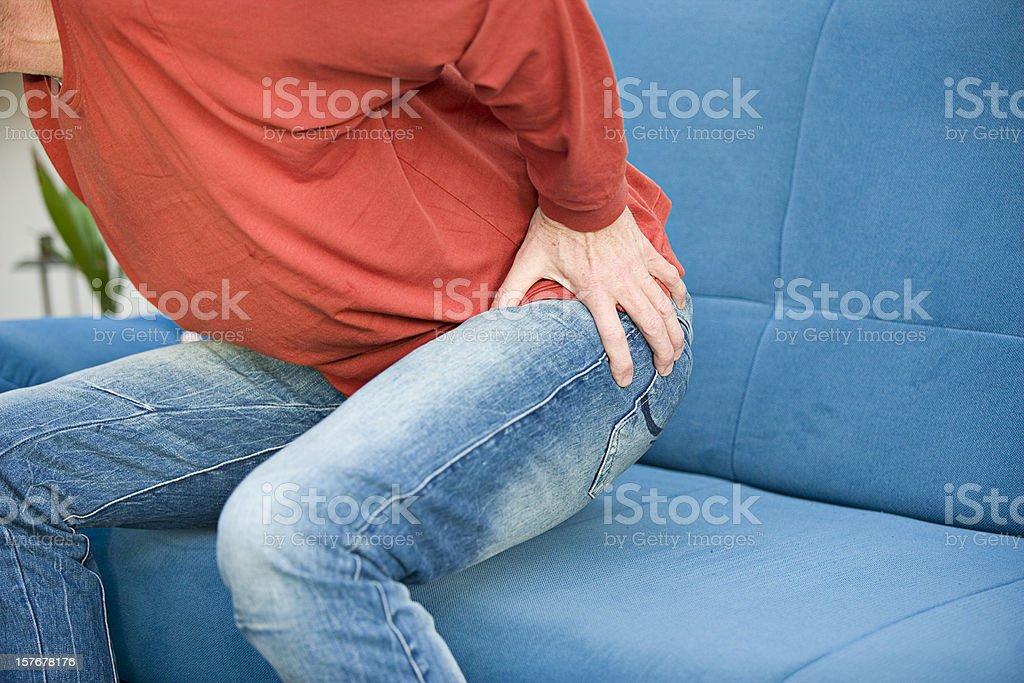 Hip pain stock photo