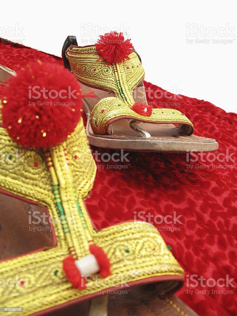 Hip Sandals stock photo