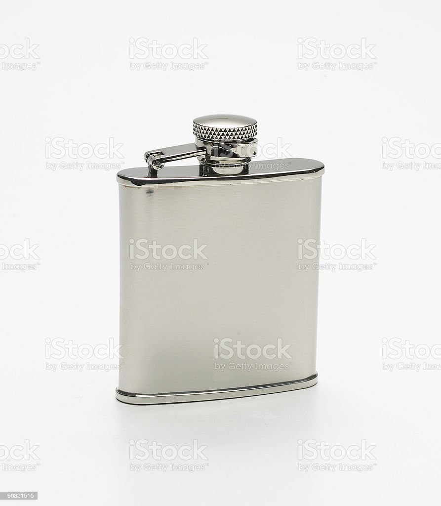 hipflask royalty-free stock photo