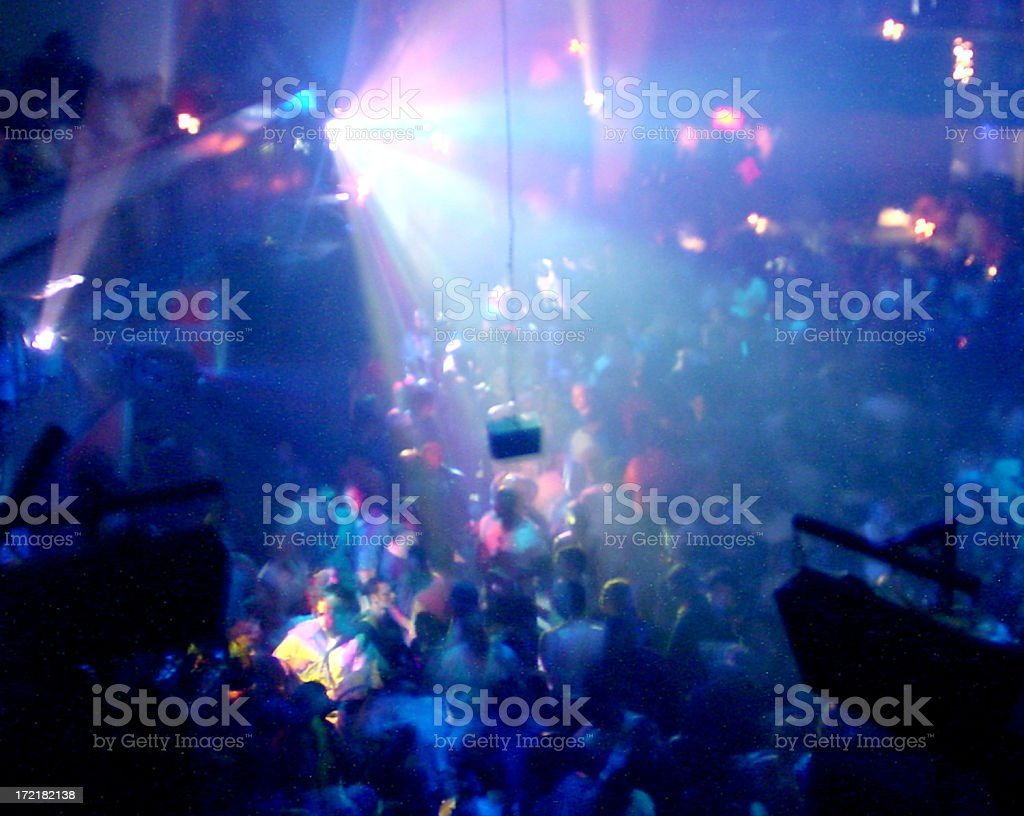Hip-Hop dance Club royalty-free stock photo