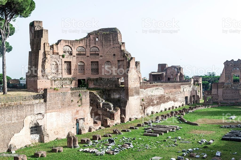 Hippodrome Stadium of Domitian stock photo
