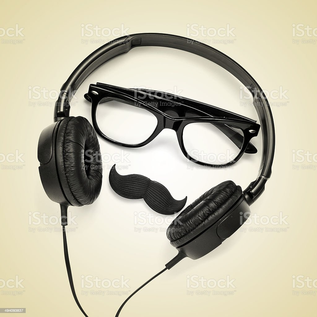 hipster guy stock photo