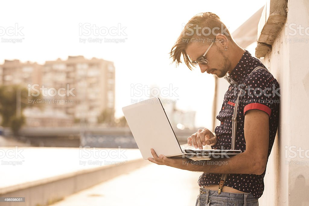 hipster stock photo