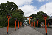 Hirano Shrine in Kyoto, Japan