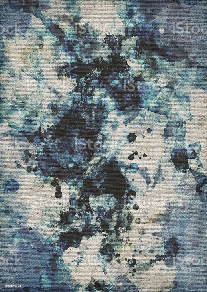 Hi-Res Acrylic Painting On Primed Linen Duck Coarse Grain Canvas royalty-free stock photo