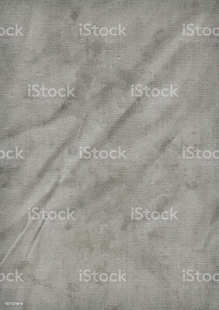 Hi-Res Acrylic Primed Linen Duck Canvas Mottled Vignette Grunge Texture royalty-free stock photo