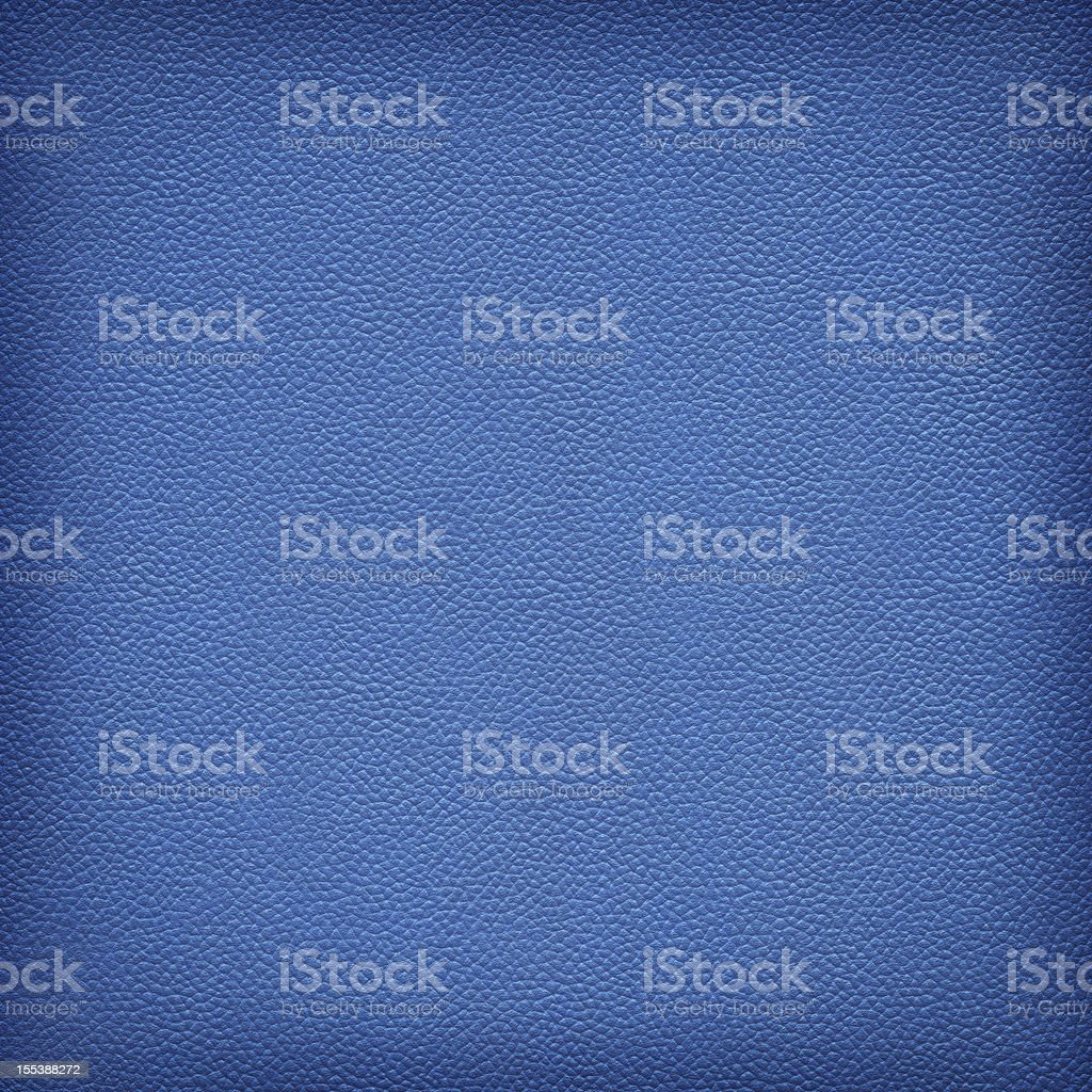 Hi-Res Animal Skin - Pig Navy Blue Leather Vignette Texture stock photo