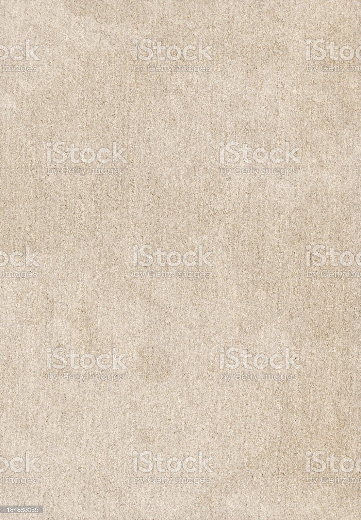 Hi-Res Antique Beige Paper Dappled Grunge Texture royalty-free stock photo