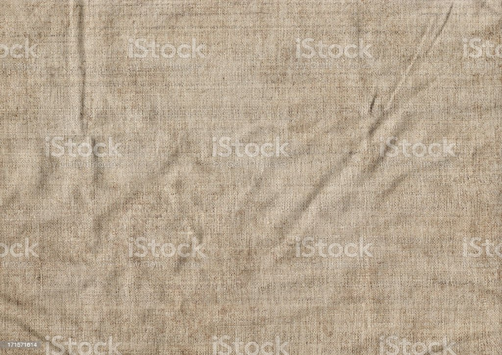 This Large, High Resolution, Antique Artist\'s Unprimed Natural Linen...