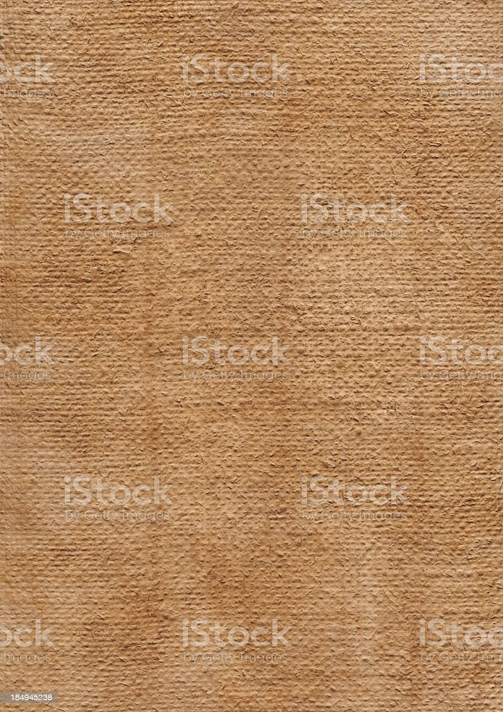 Hi-Res Artist Primed Burlap Canvas Coarse Grain Mottled Grunge Texture royalty-free stock photo
