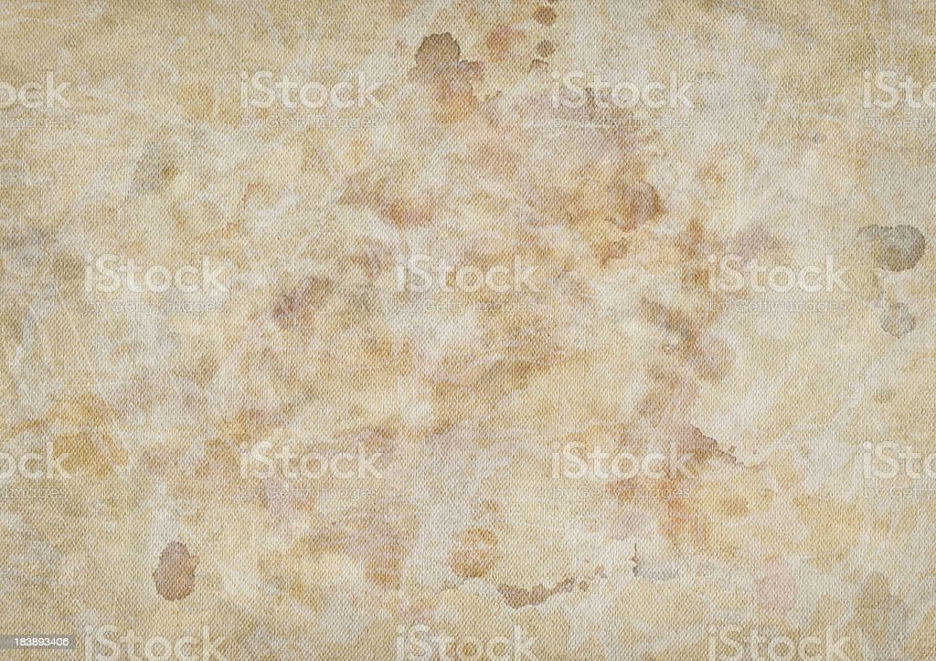 Hi-Res Artist's Acrylic Primed Cotton Duck Canvas Dappled Grunge Texture royalty-free stock photo