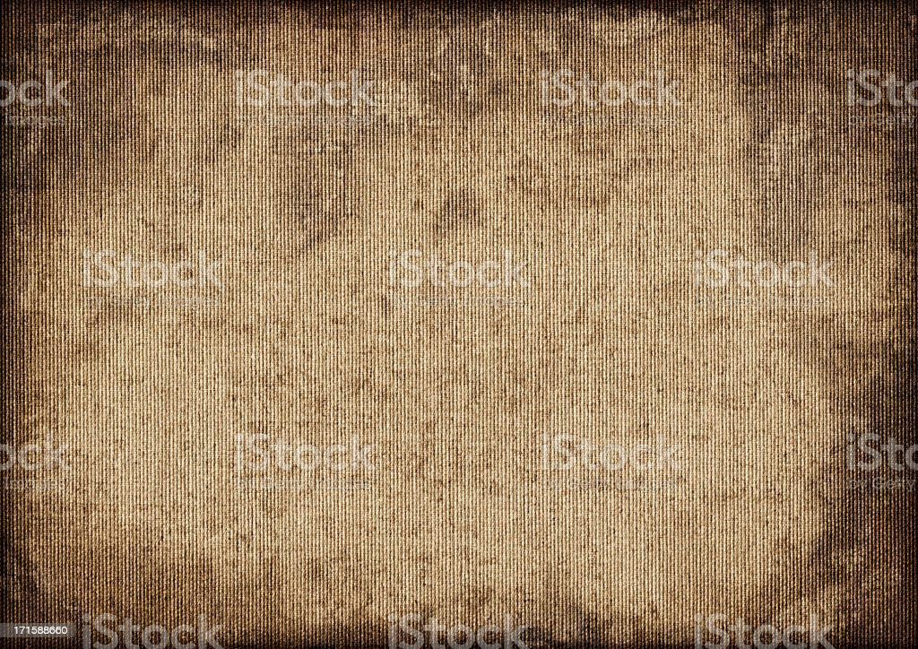 Hi-Res Artists' Antique Cotton Duck Canvas Mottled Vignette Grunge Texture stock photo