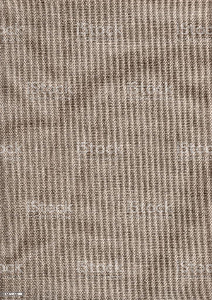 Hi-Res Artist's Cotton Duck Canvas Coarse Grain Crumpled Grunge Texture royalty-free stock photo
