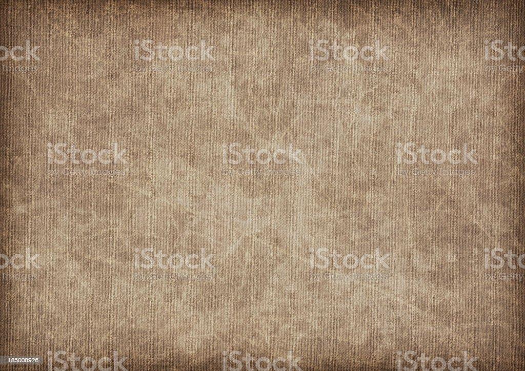 Hi-Res Artist's Linen Canvas Mottled Blotted Vignette Grunge Texture royalty-free stock photo