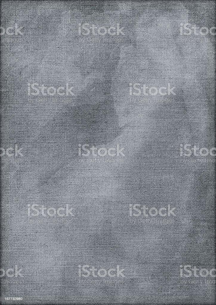 Hi-Res Artist's Linen Duck Canvas Mottled Vignette Grunge Texture stock photo
