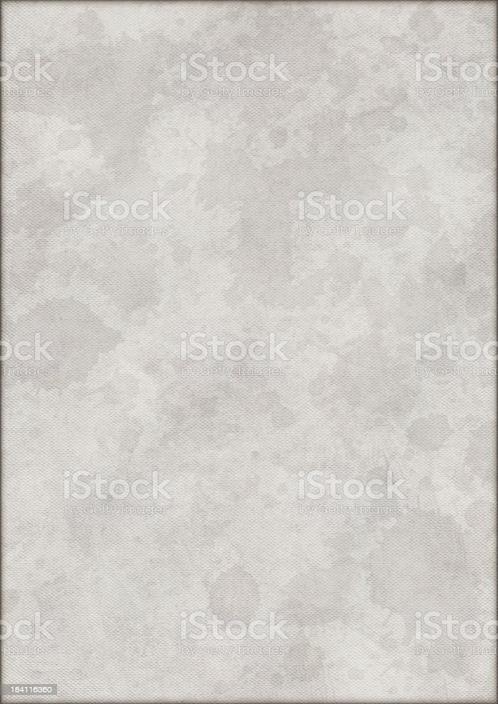 Hi-Res Artist's Primed Cotton Duck Canvas Dappled Vignetted Grunge Texture royalty-free stock photo