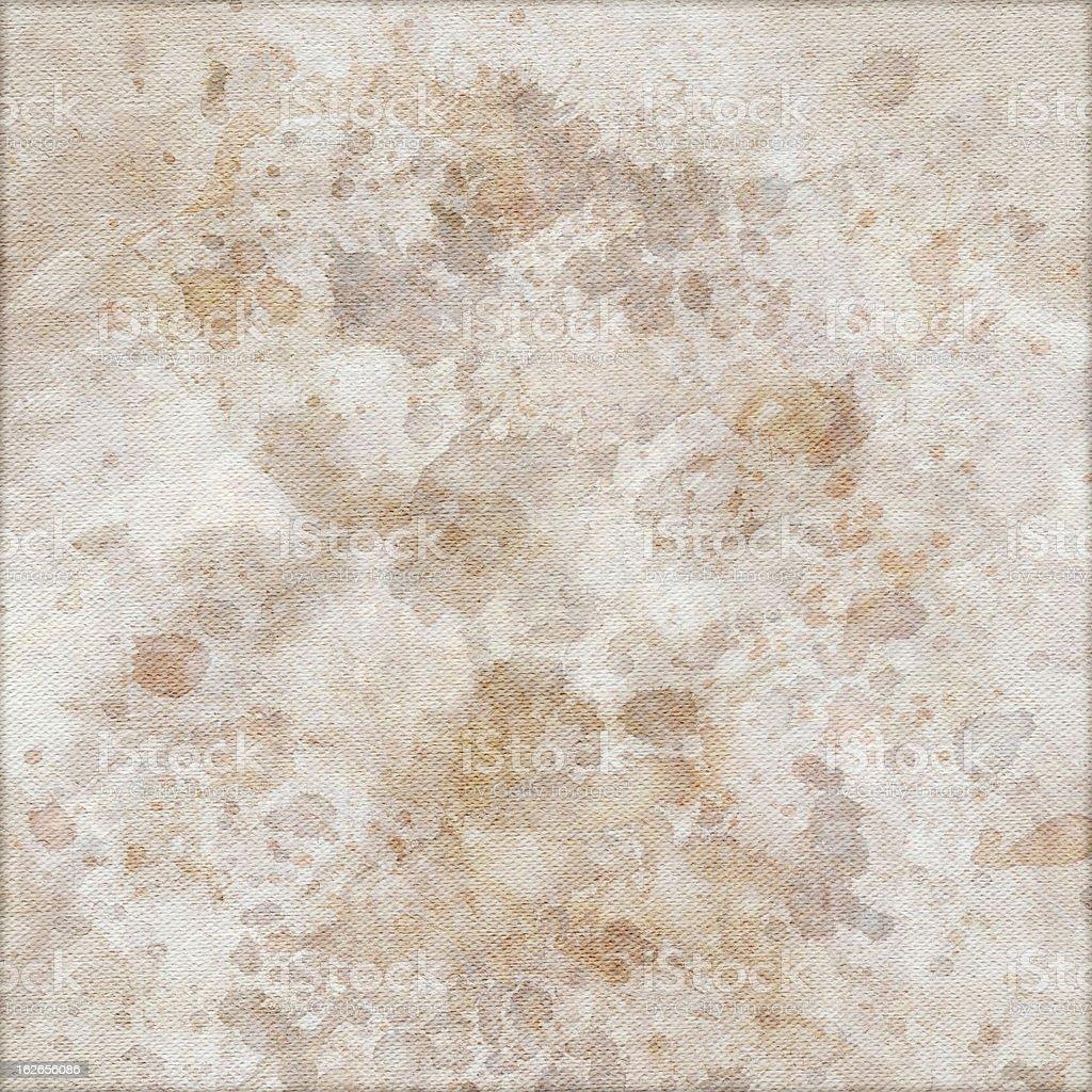 Hi-Res Artist's Unprimed Cotton Duck Canvas Mottled Vignette Grunge Texture stock photo