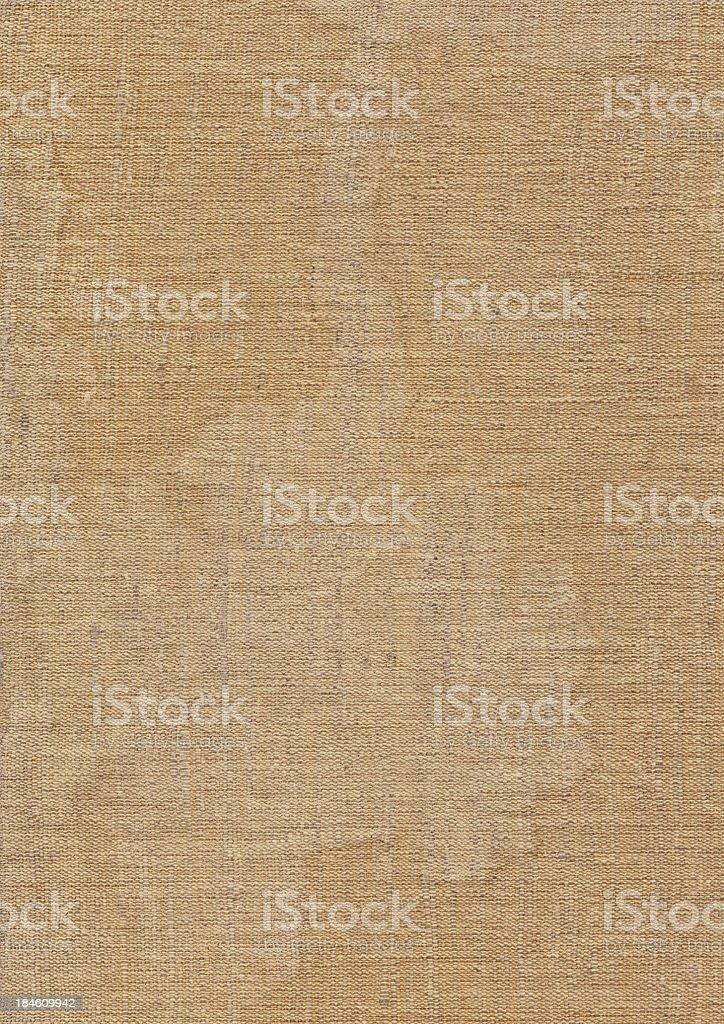Hi-Res Artist's Unprimed Linen Canvas Wrinkled Bleached Mottled Grunge Texture royalty-free stock photo