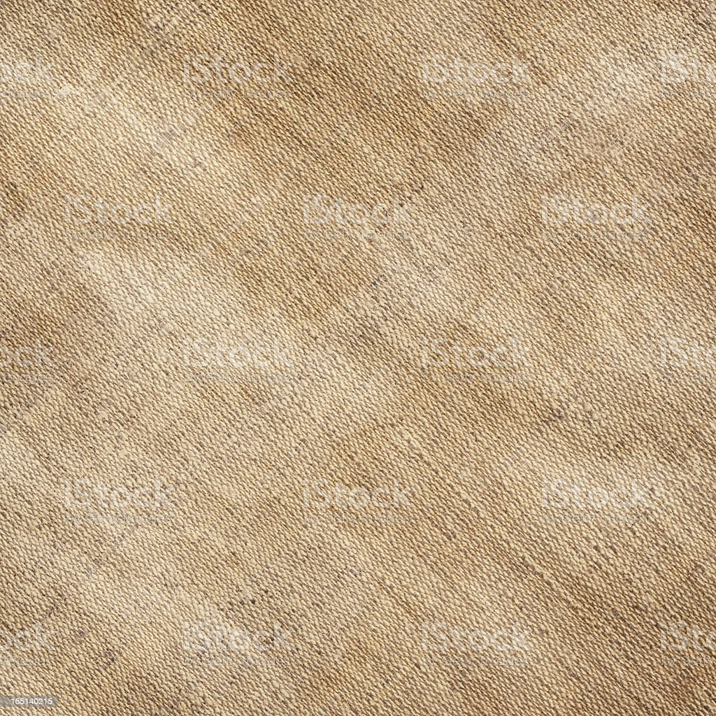 Hi-Res Artist's Unprimed Linen Canvas Wrinkled Stained Mottled Grunge Texture stock photo