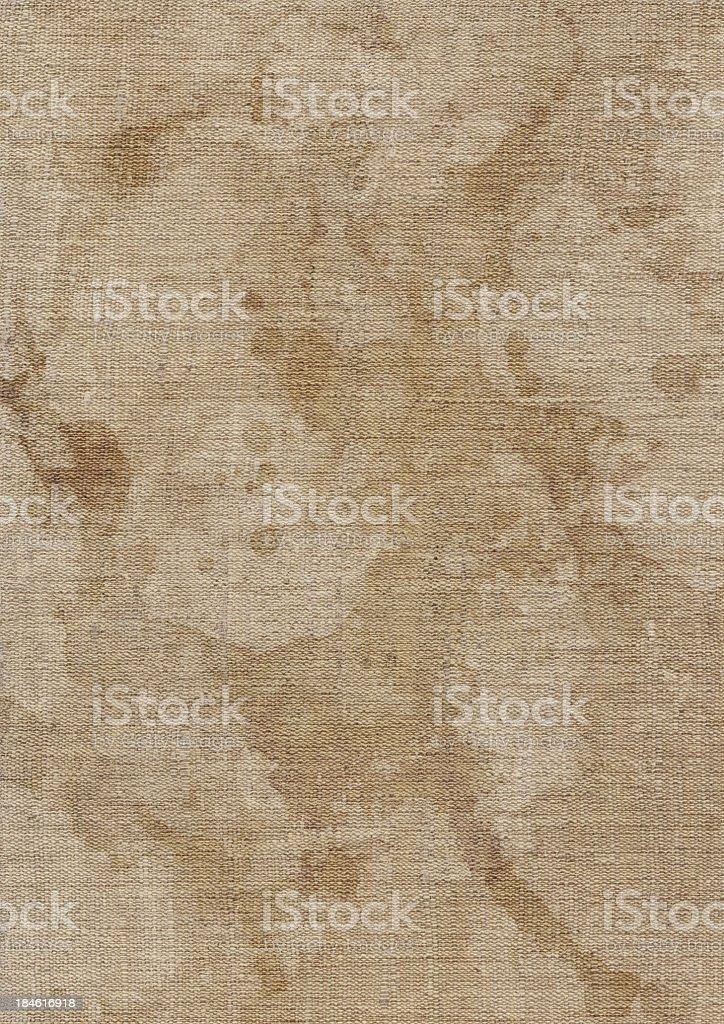 Hi-Res Artist's Unprimed Linen Duck Canvas Mottled Grunge Texture stock photo