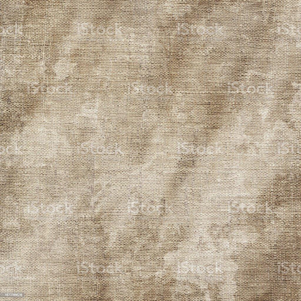Hi-Res Artist's Unprimed Linen Duck Canvas Wrinkled Mottled Grunge Texture stock photo