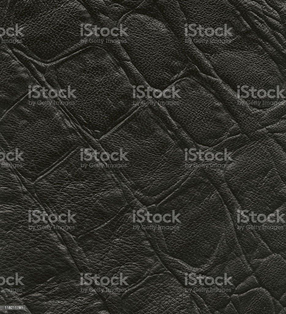 Hi-res Black leather background stock photo