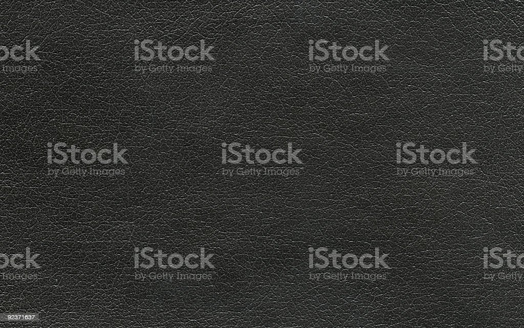 Hi-res Black leather background royalty-free stock photo