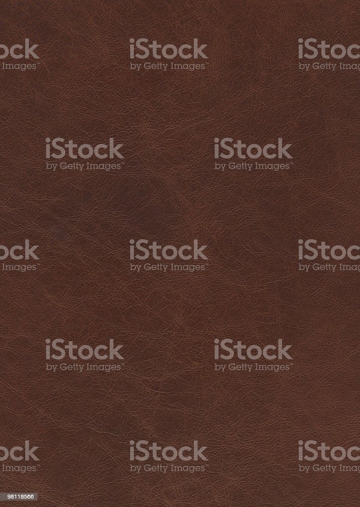 Hi-res Brown leather texture background royalty-free stock photo