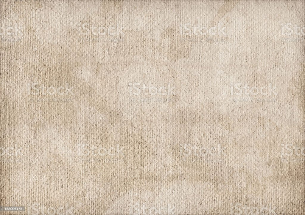 Hi-Res Coarse Primed Artist Burlap Canvas Mottled Vignette Grunge Texture stock photo