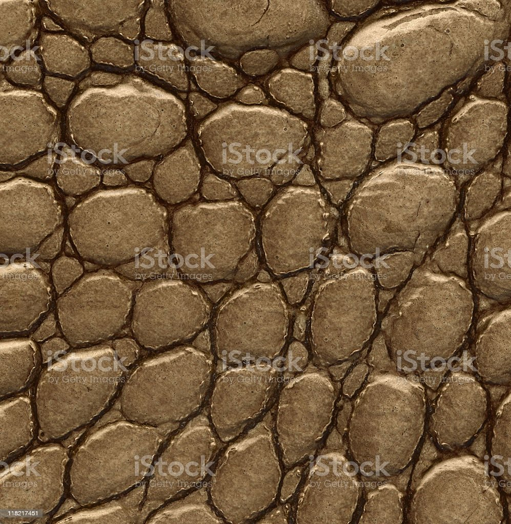 Hi-res crocodile leather background stock photo