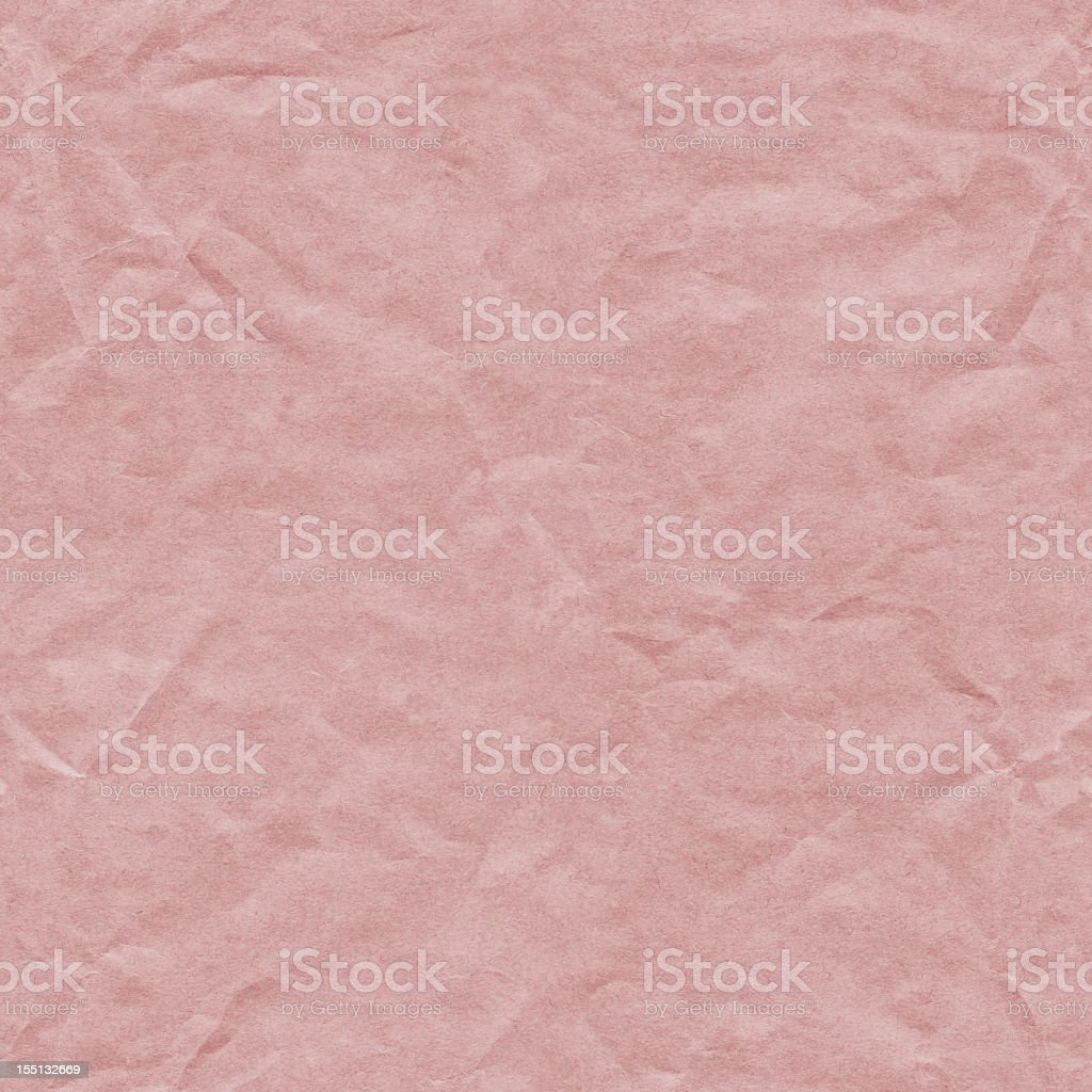 Hi-Res Crushed Recycle Pink Paper Seamless Texture Tile royalty-free stock photo