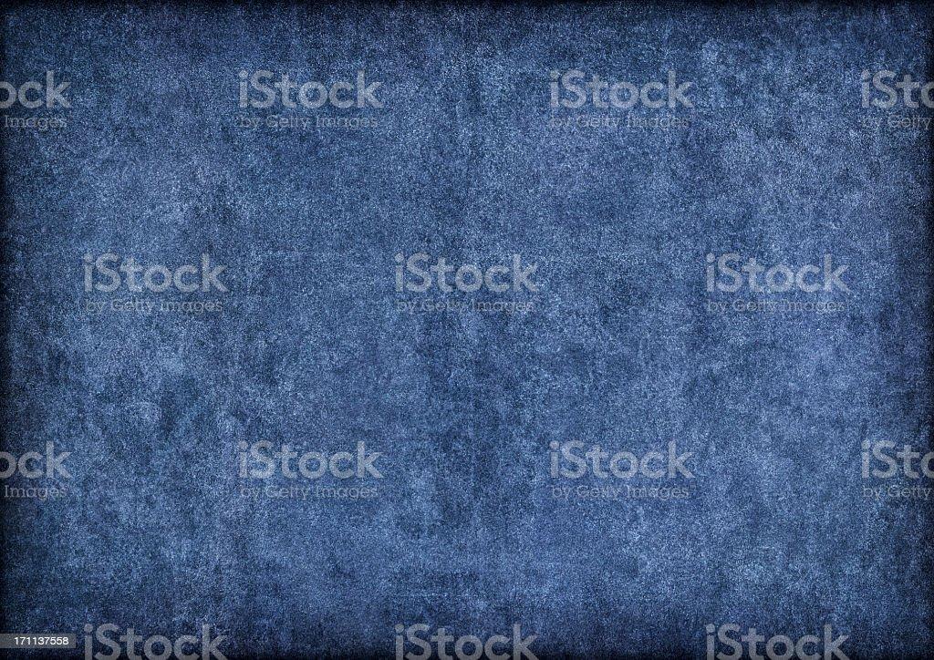 Hi-Res Marine Blue Pig Leather Suede Vignette Grunge Texture stock photo