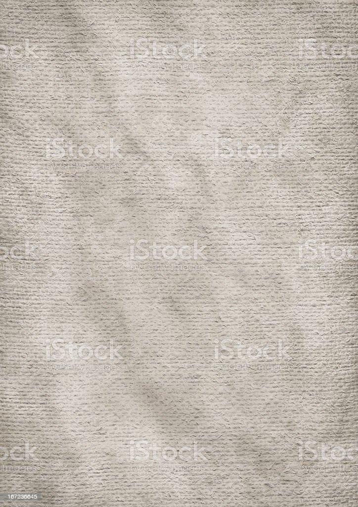 Hi-Res Old Artist's Primed Jute Canvas Wrinkled Mottled Grunge Texture royalty-free stock photo