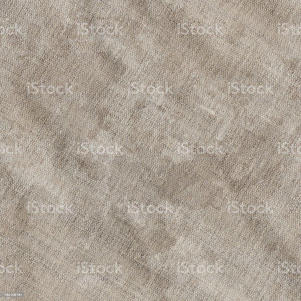 Hi-Res Old Artist's Unprimed Linen Canvas Wrinkled Dappled Grunge Texture royalty-free stock photo