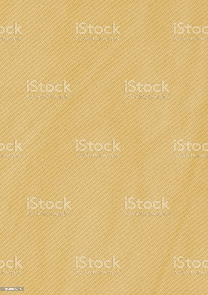 Hi-Res Pale Ocher-beige Artificial PVC Leather Wrinkled Grunge Texture royalty-free stock photo