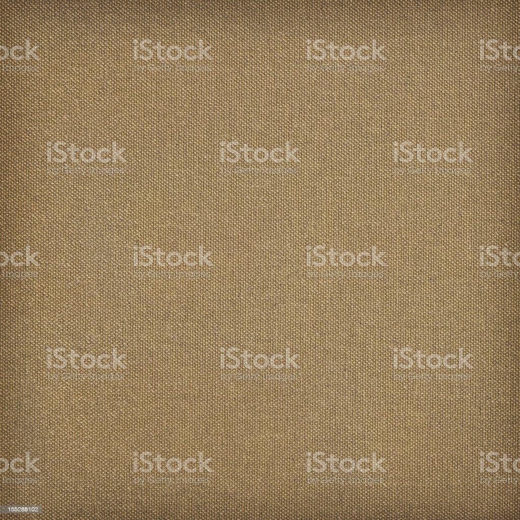 Hi-Res Primed Artist's Cotton Canvas Reverse Side Vignette Grunge Texture royalty-free stock photo