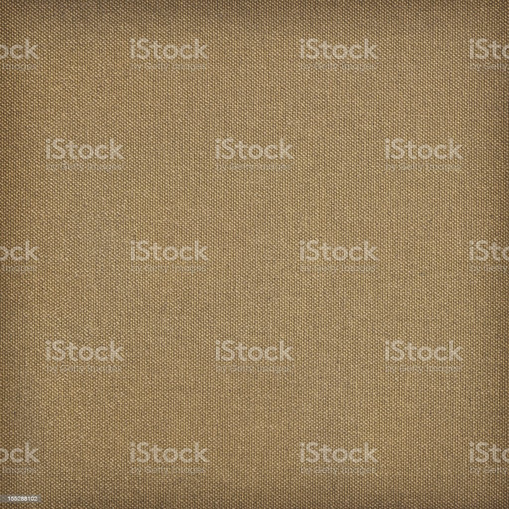 Hi-Res Primed Artist's Cotton Canvas Reverse Side Vignette Grunge Texture stock photo