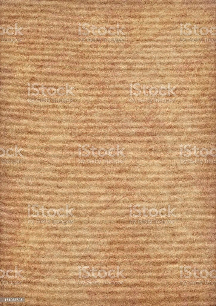 Hi-Res Recycle Yellow Striped Pastel Paper Crumpled Vignette Grunge Texture royalty-free stock photo