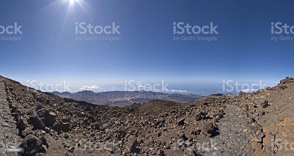 Hi-res Tenerife panorama royalty-free stock photo