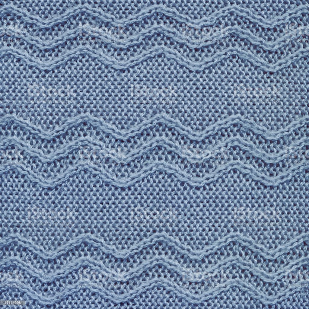 Hi-Res Zig Zag Waved Knitted Fabric Pattern Sample royalty-free stock photo