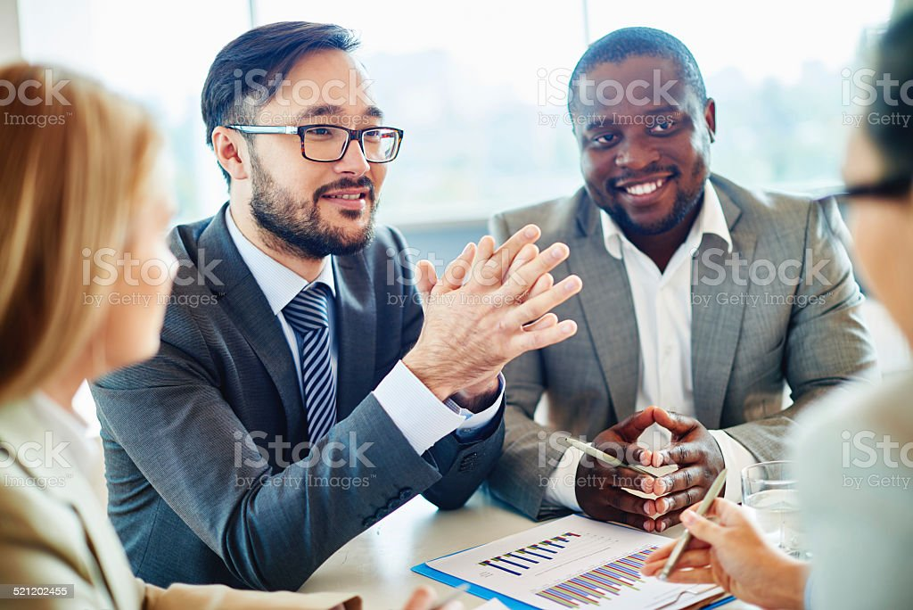 Hiring people stock photo
