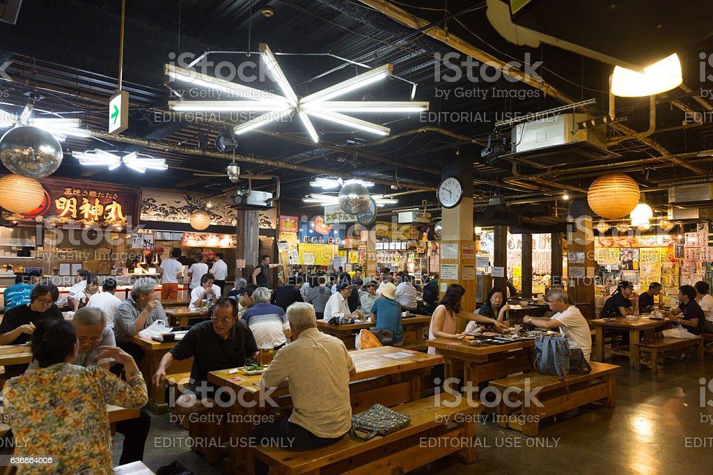 Hirome Market in Kochi Prefecture, Japan stock photo