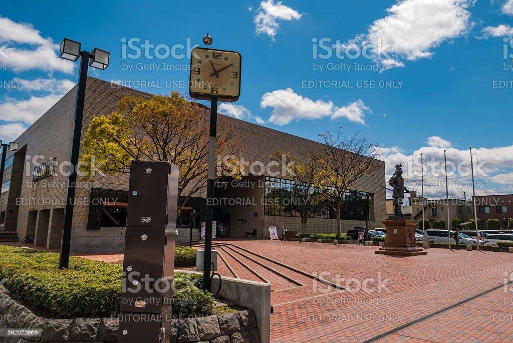 Hirosaki Cultural Center stock photo