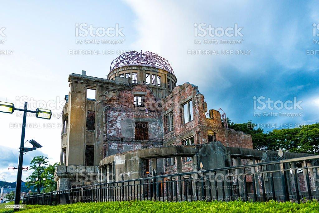Hiroshima A-Bomb Dome Genbaku Domu stock photo