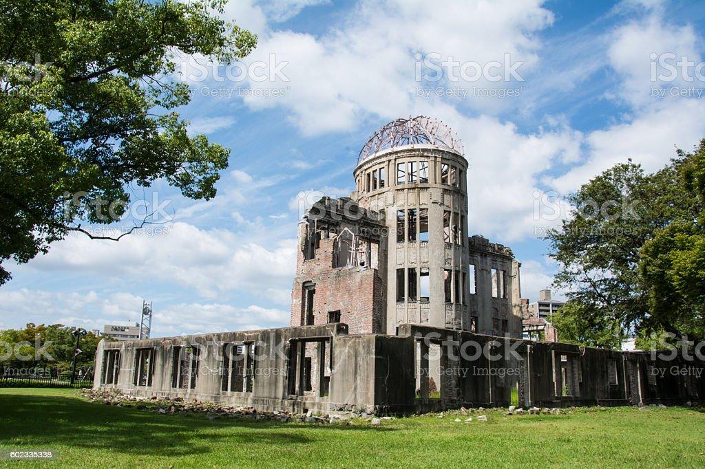Hiroshima Momerial stock photo