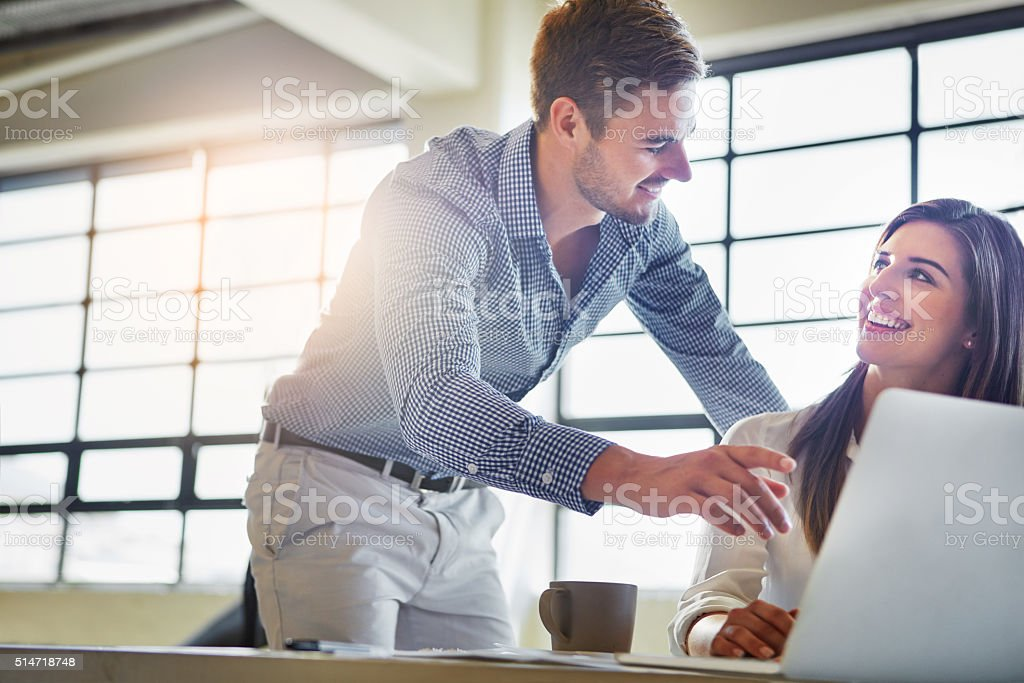 His ambition inspires others stock photo